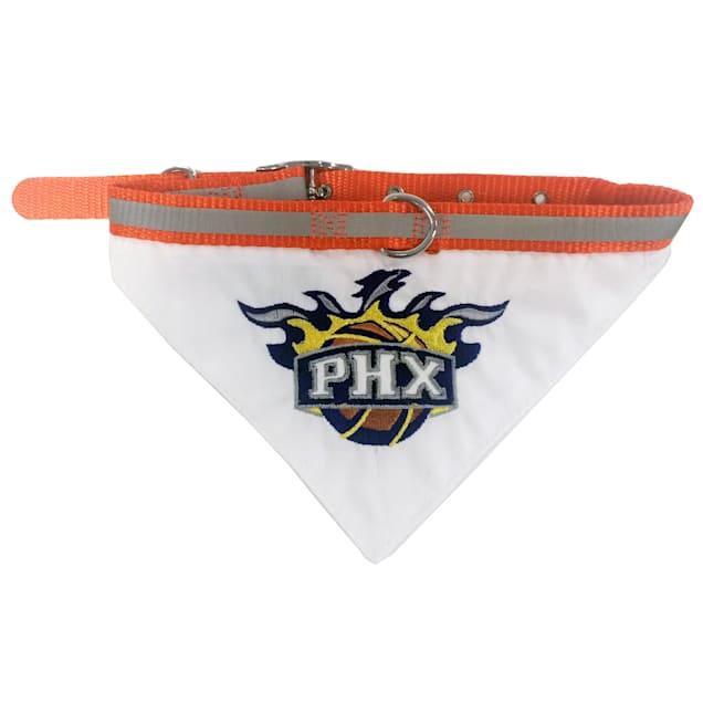 Phoenix Suns NBA Dog Collar Bandana, Small - Carousel image #1