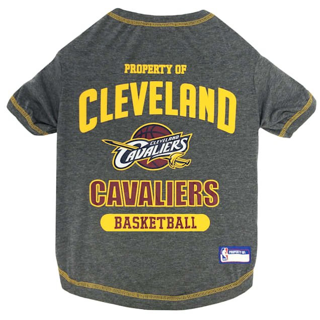 Pets First Cleveland Caveliers NBA T-Shirt for Dogs, X-Small - Carousel image #1