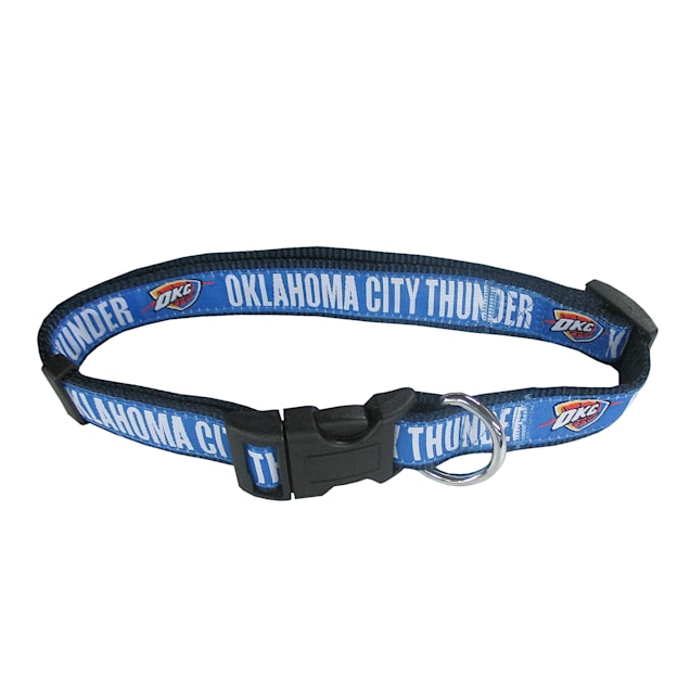 Pets First Oklahoma City Thunder NBA Dog Collar, Small - Carousel image #1