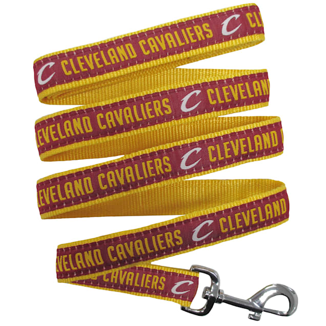 Pets First Cleveland Caveliers NBA Dog Leash, Small - Carousel image #1