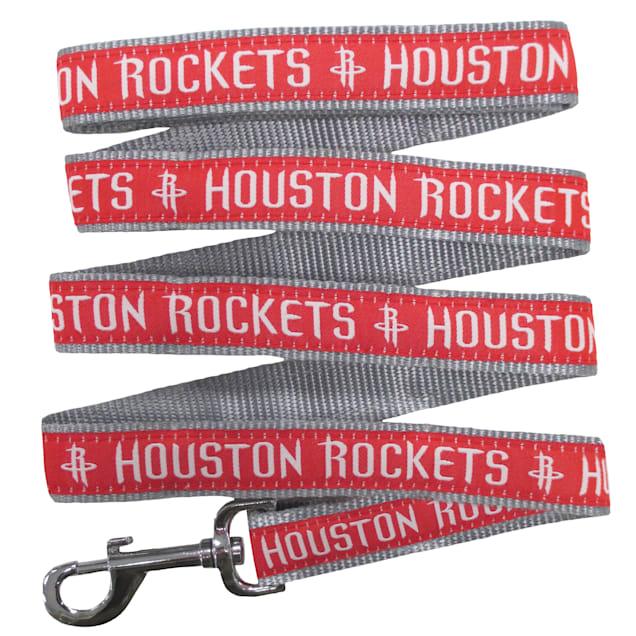 Pets First Houston Rockets NBA Dog Leash, Small - Carousel image #1
