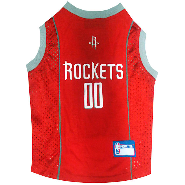 Pets First Houston Rockets NBA Mesh Jersey for Dogs, X-Small - Carousel image #1