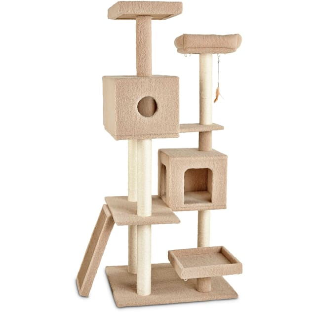 """You & Me 7-Level Cat Tree, 64"""" H - Carousel image #1"""