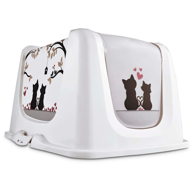 So Phresh Cat Love Litter Box Privacy Hood, X-Large - Carousel image #1