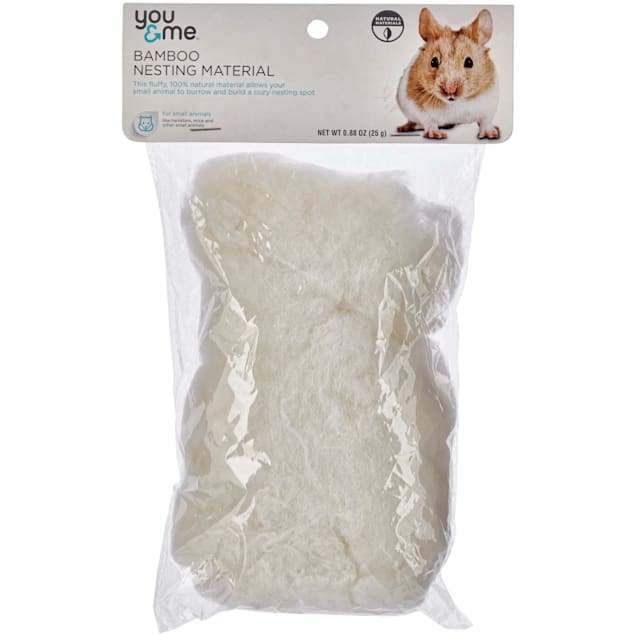 You & Me Bamboo Nesting Material for Small Animals, 25 g. - Carousel image #1