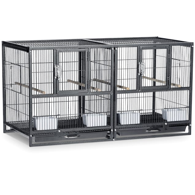 Prevue Pet Products Hampton Deluxe Divided Breeder Cage - Carousel image #1