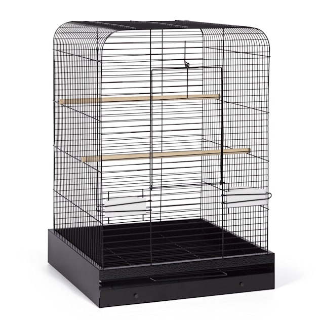Prevue Pet Products Madison Bird Cage Black Hammertone - Carousel image #1