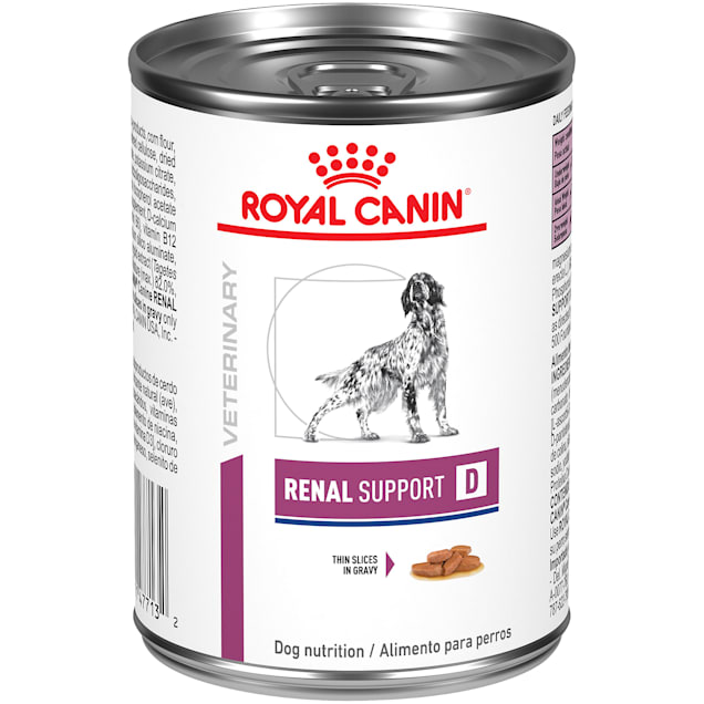 Royal Canin Veterinary Diet Renal Support D (Delectable) Wet Dog Food, 13.5 oz., Case of 24 - Carousel image #1