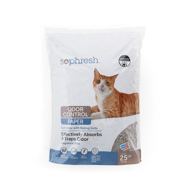 So Phresh Odor Control Paper Cat Litter, 25 lbs. - Carousel image #1