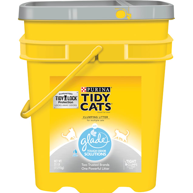 Purina Tidy Cats Clumping Glade Clear Springs Multi Cat Litter, 35 lbs. - Carousel image #1
