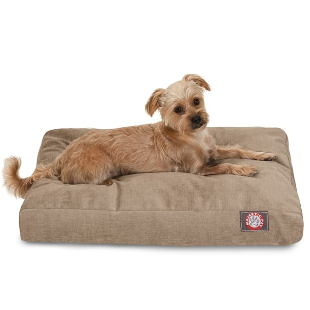 "Majestic Pet Pearl Villa Shredded Memory Foam Rectangle Dog Bed, 44"" L x 36"" W - Carousel image #1"