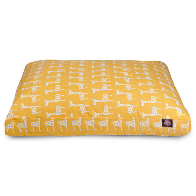 "Majestic Pet Stretch Yellow Rectangle Pet Bed, 44"" L x 36"" W - Carousel image #1"