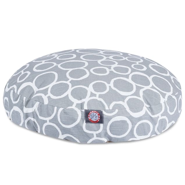 """Majestic Pet Fusion Gray Round Pet Bed, 36"""" L x 36"""" W - Carousel image #1"""