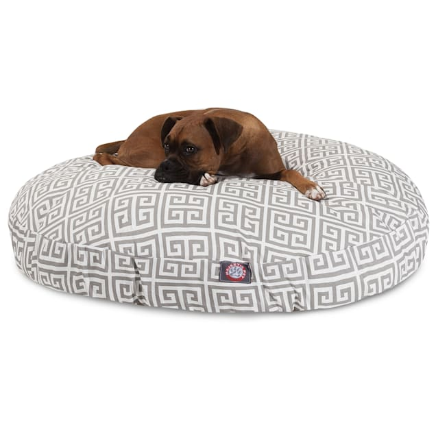 """Majestic Pet Grey Towers Round Pet Bed, 42"""" L x 42"""" W - Carousel image #1"""