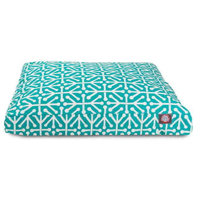 "Majestic Pet Pacific Aruba Rectangle Pet Bed, 44"" L x 36"" W - Carousel image #1"