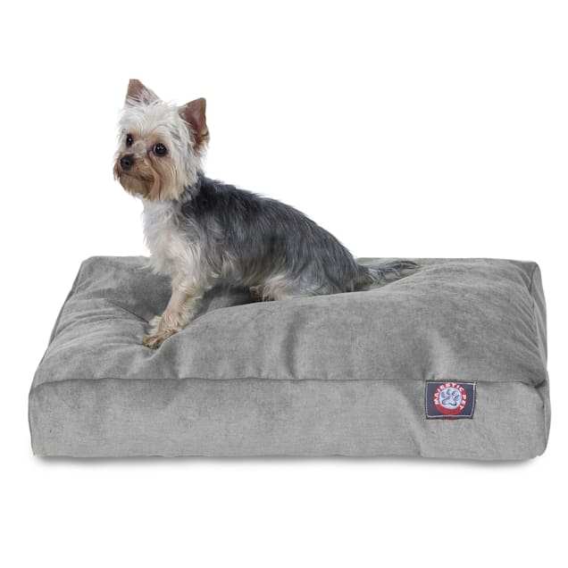 "Majestic Pet Vintage Villa Shredded Memory Foam Rectangle Dog Bed, 44"" L x 36"" W - Carousel image #1"
