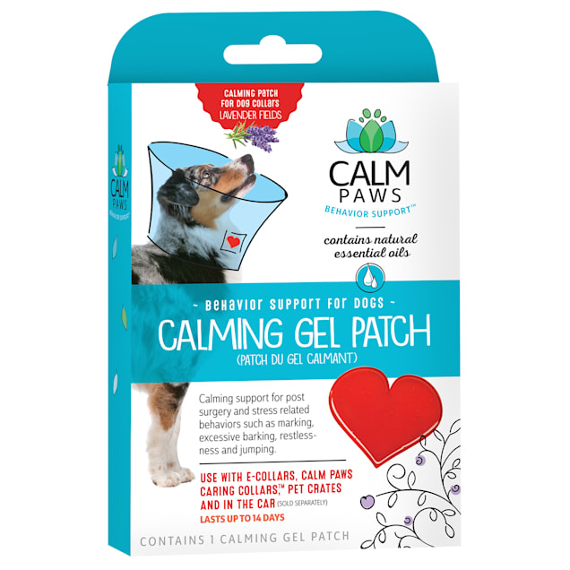 Calm Paws Dog Calming Gel Patch - Carousel image #1