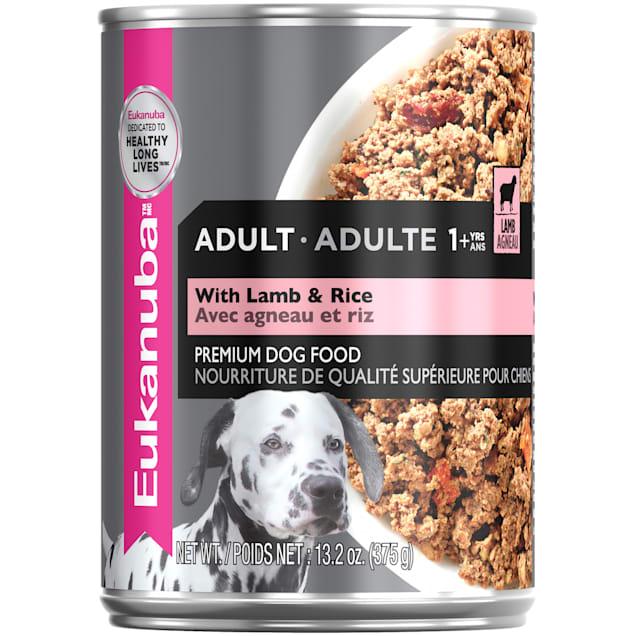 Eukanuba Lamb & Rice Adult Wet Dog Food, 13.2 oz. - Carousel image #1