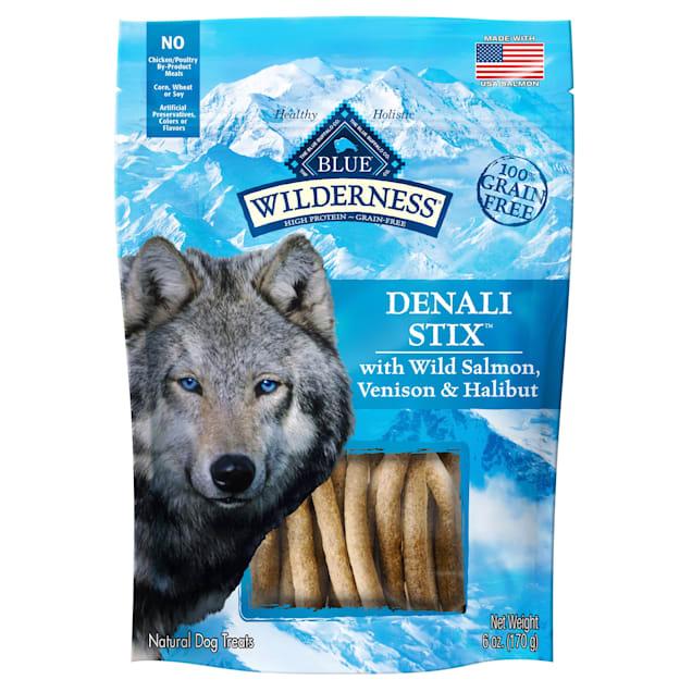 Blue Buffalo Blue Wilderness Denali Dinner Stix Dog Treats, 6 oz. - Carousel image #1
