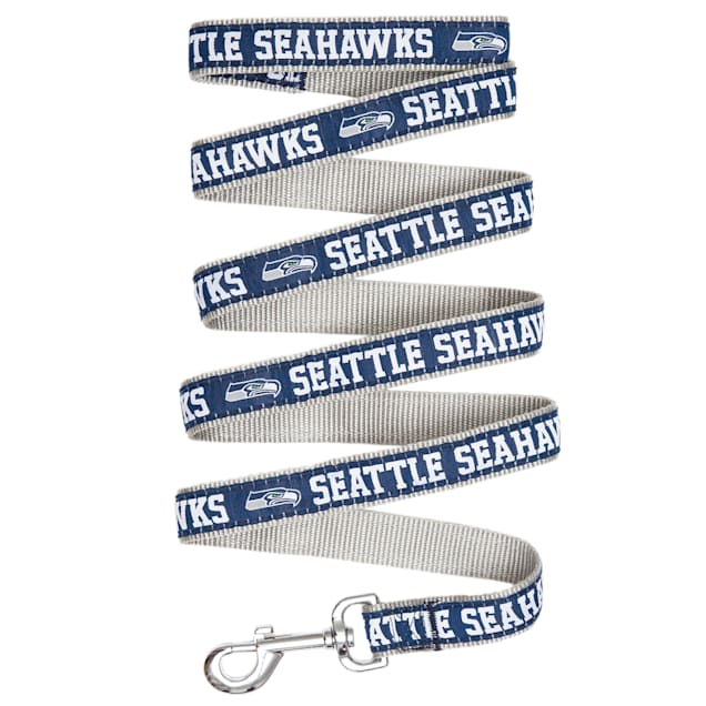 Pets First Seattle Seahawks Leash, Small - Carousel image #1