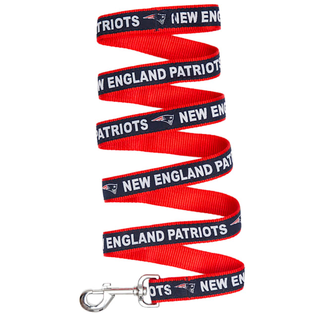 Pets First New England Patriots Leash, Small - Carousel image #1