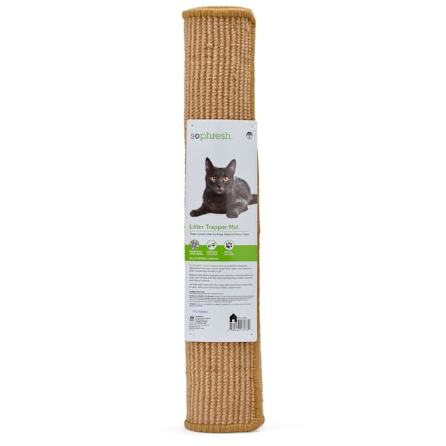 "So Phresh Jute Cat Litter Trapper Mat, 24"" x 36"" - Carousel image #1"