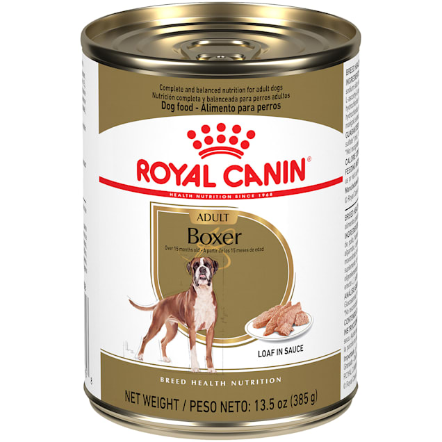 Royal Canin Breed Health Nutrition Boxer Loaf In Sauce Wet Dog Food, 13.5 oz., Case of 12 - Carousel image #1
