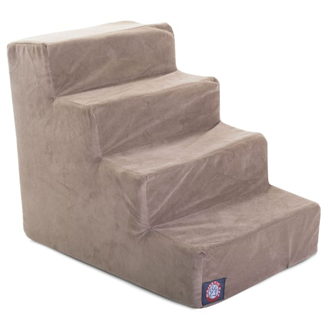Majestic Pet Products 4-Step Stone Suede Pet Stairs - Carousel image #1