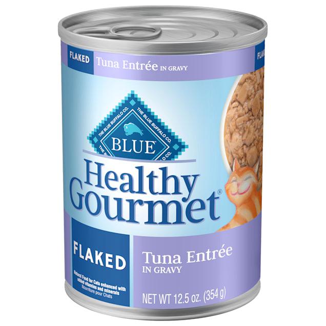 Blue Buffalo Blue Healthy Gourmet Flaked Tuna Entree Wet Cat Food, 12.5 oz. - Carousel image #1