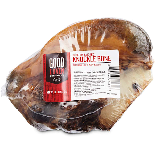 Good Lovin' Hickory Smoked Knuckle Bone Dog Chew, Pack of 1 - Carousel image #1