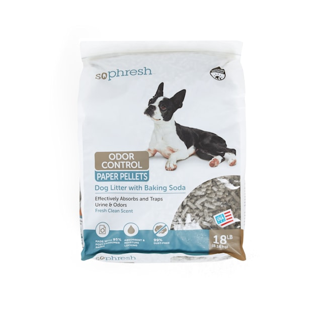 So Phresh Dog Litter with Odor Control Paper, 18 LB - Carousel image #1