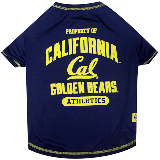Pets First Cal Berkeley Golden Bears T-Shirt, XSmall - Carousel image #1