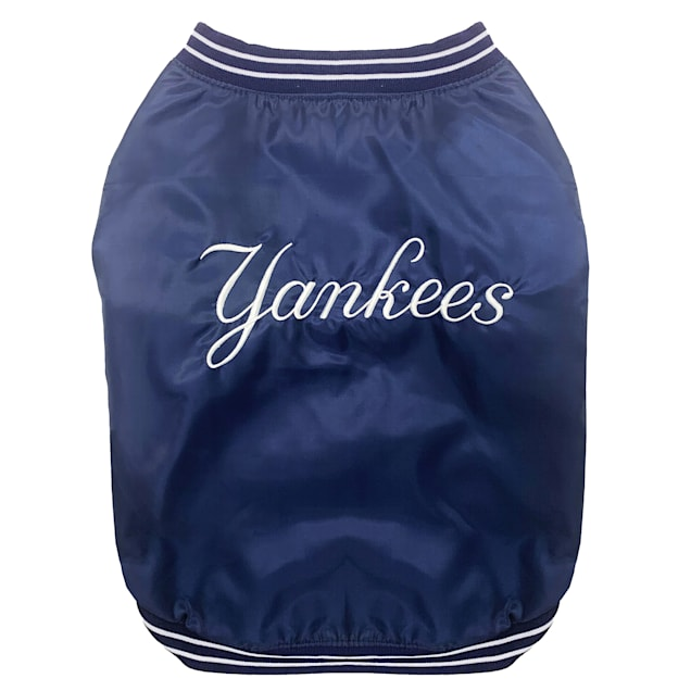 Pets First New York Yankees Dugout Jacket, Small - Carousel image #1