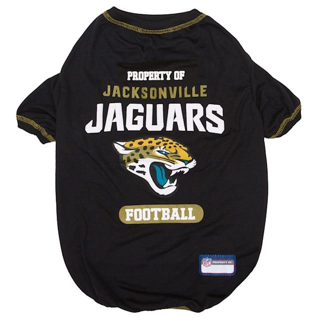 Pets First Jacksonville Jaguars T-shirt, X-Small - Carousel image #1