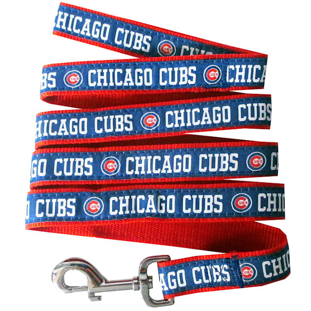Pets First Chicago Cubs Leash, Small - Carousel image #1