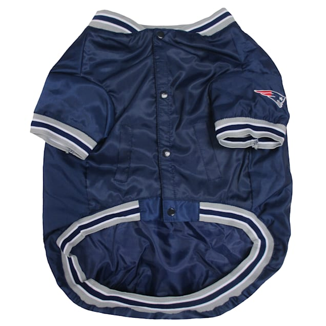 Pets First New England Patriots Dugout Jacket, Small - Carousel image #1