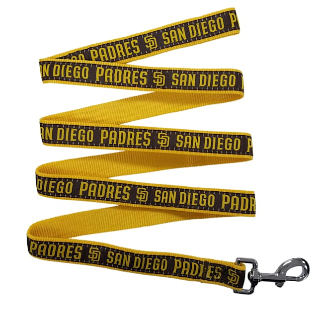 Pets First San Diego Padres Leash, Small - Carousel image #1