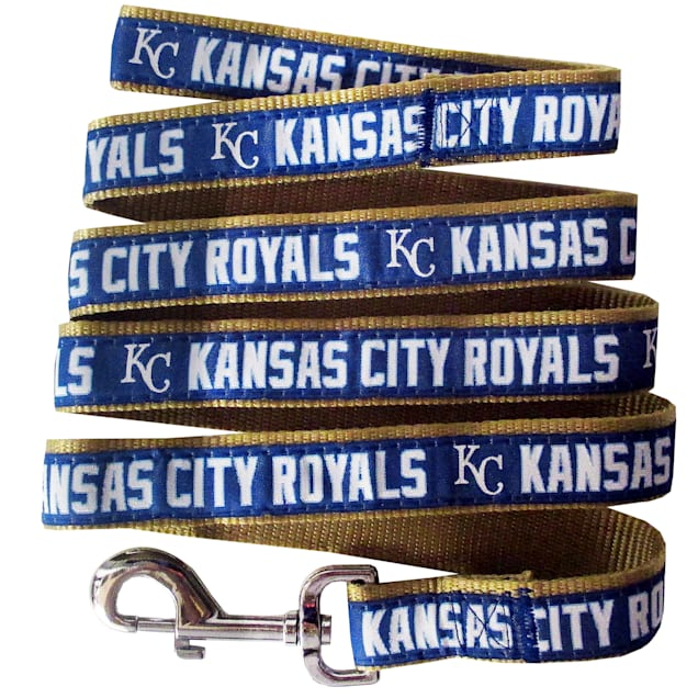 Pets First Kansas City Royals Leash, Small - Carousel image #1