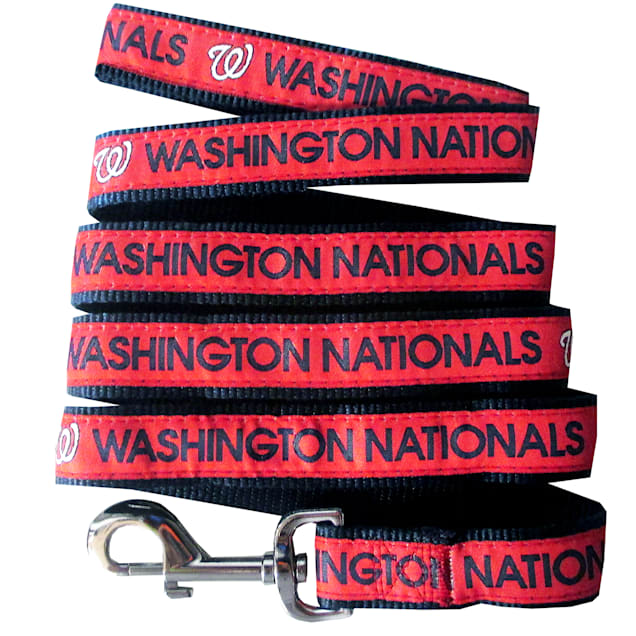 Pets First Washington Nationals Leash, Small - Carousel image #1