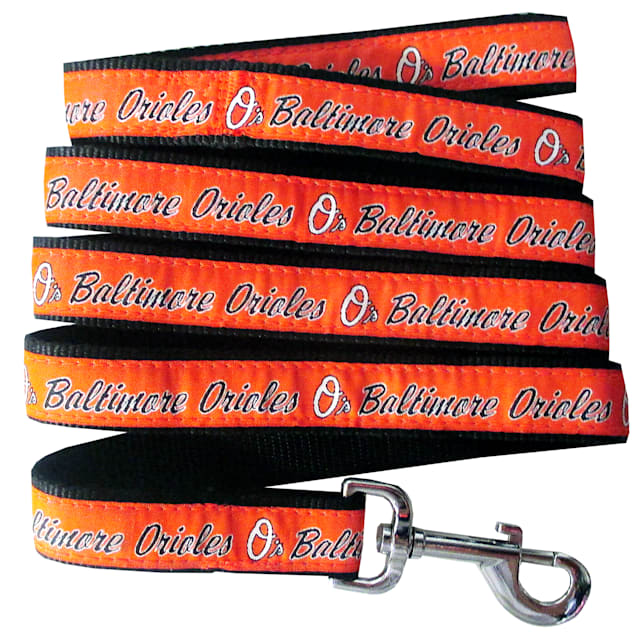 Pets First Baltimore Orioles Leash, Small - Carousel image #1