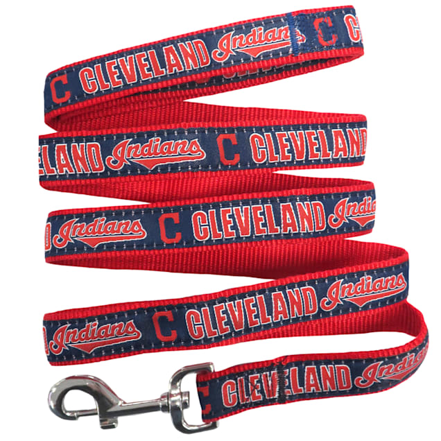 Pets First Cleveland Indians Leash, Small - Carousel image #1