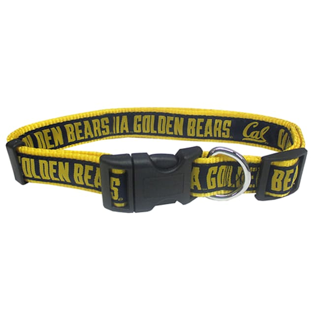 Pets First Cal Berkeley Golden Bears Collar, Small - Carousel image #1