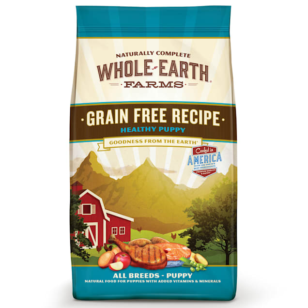 Whole Earth Farms Grain Free Healthy Puppy Recipe Dry Food, 25 lbs. - Carousel image #1