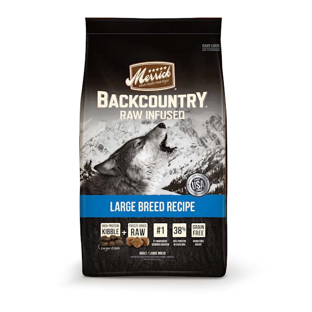 Merrick Backcountry Grain Free Large Breed Dry Dog Food, 22 lbs. - Carousel image #1