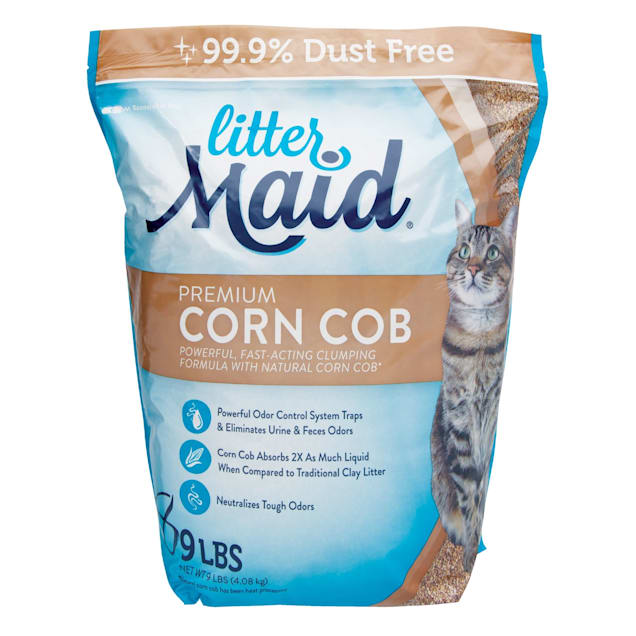 LitterMaid Premium Corn Cob Litter, 9 lbs. - Carousel image #1