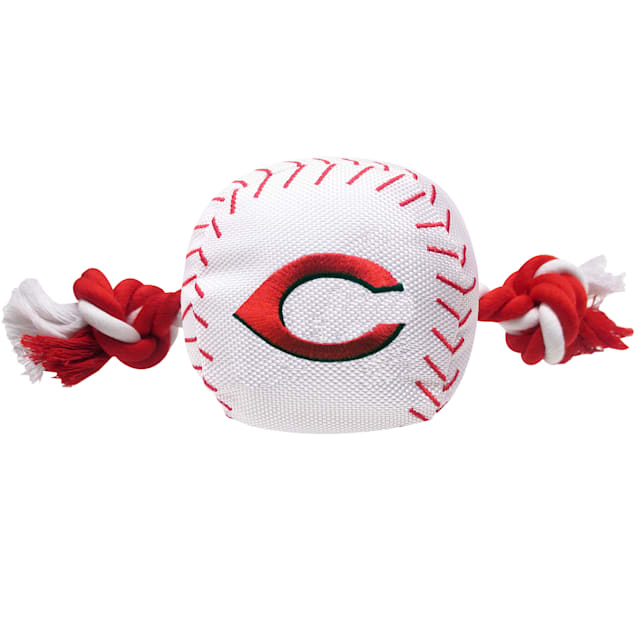 Pets First MLB Cincinnati Reds Baseball Toy, Large - Carousel image #1