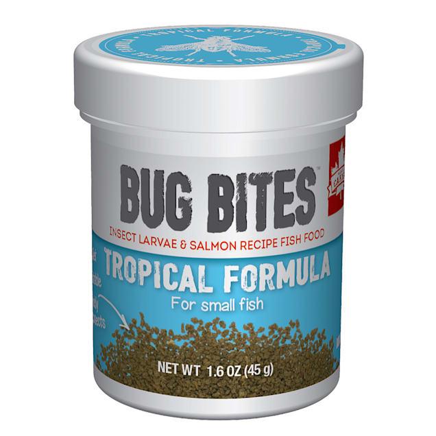 Fluval Bug Bites Granules for Small-Medium Tropical Fish., 1.59 oz - Carousel image #1