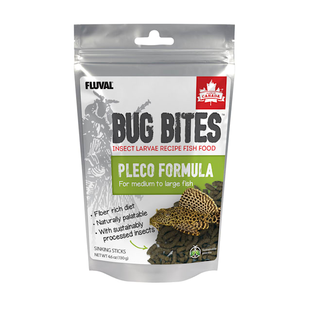 Fluval Bug Bites Sticks for Medium-Large Plecos., 4.59 oz - Carousel image #1