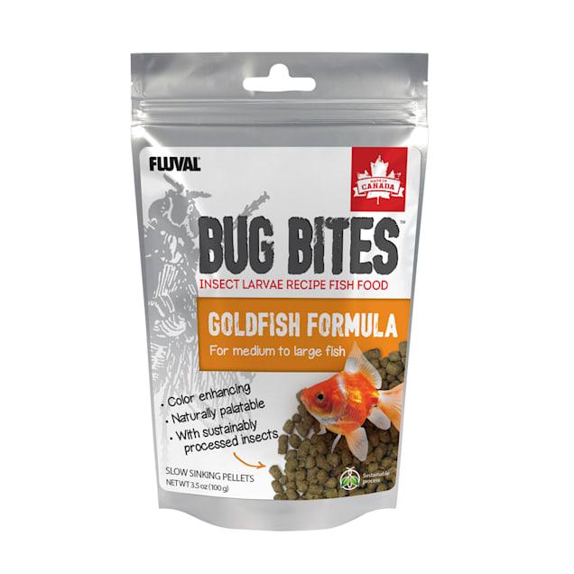 Fluval Bug Bites Pellets for Medium-Large Goldfish., 3.53 oz - Carousel image #1