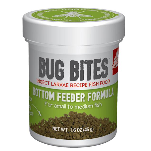 Fluval Bug Bites Granules for Small-Medium Bottom Feeders., 1.59 oz - Carousel image #1